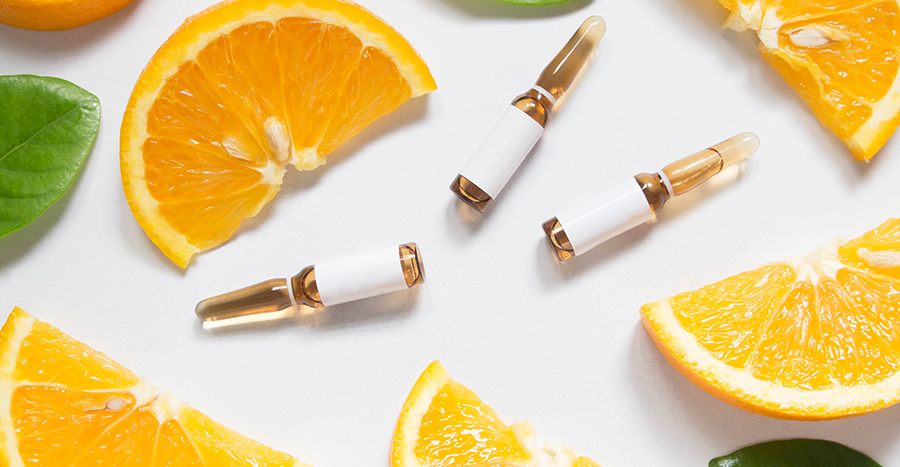 Cápsulas de vitamina C