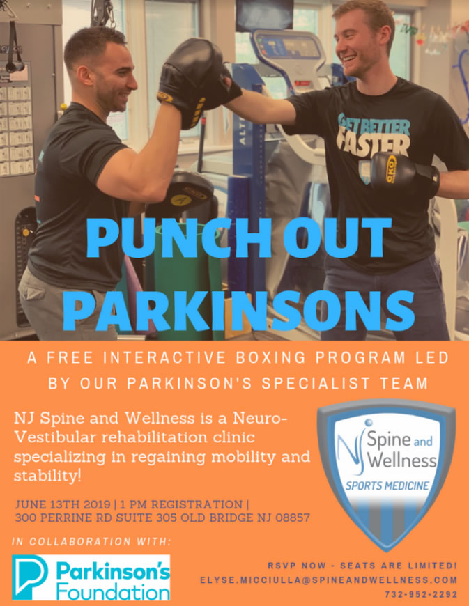 Punch Out Parkinson June 13th Health Wellness