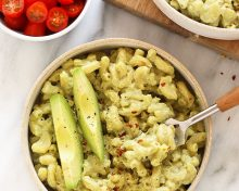 Vegan Avocado Mac and Cheese Posted by: Lee Hersh
