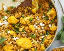 Moroccan Chickpea Couscous