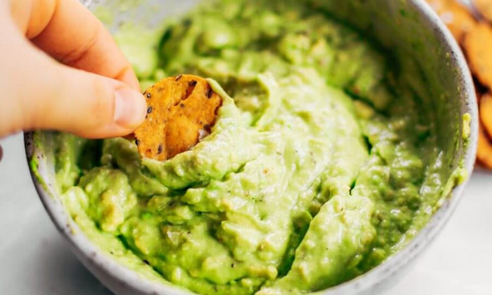 Avocado lime dip