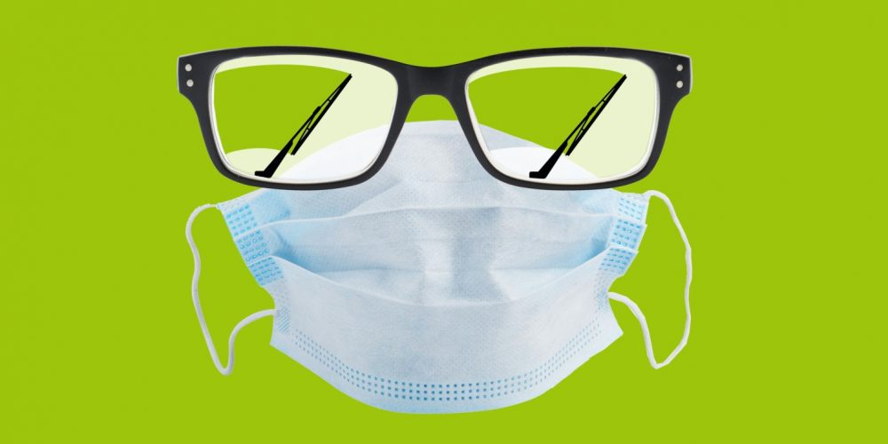 Face Masks Can Prove Tricky for Those With Eyeglasses