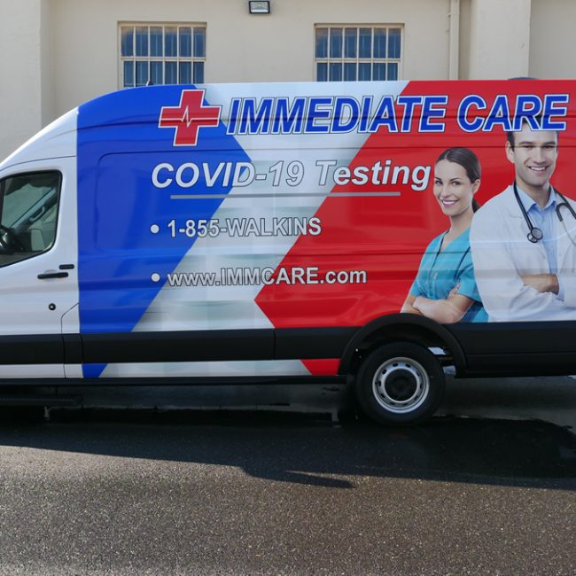 Immediate Care Launches Mobile Van Service to Expand COVID Testing