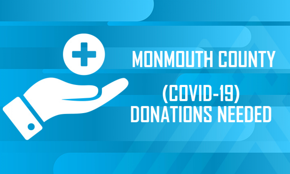 County officials announce major donation drop off site for desperately needed supplies; provide COVID-19 updates