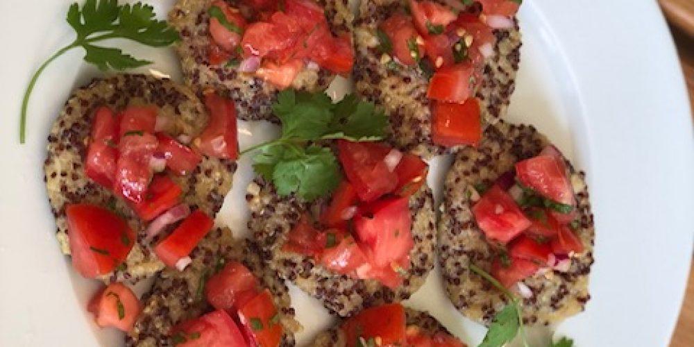 Quinoa Croquettes by Marita