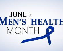 Hello June and Men's Health Month and week!