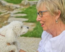 Pets help seniors stay healthier and happier, wherever they live, studies show