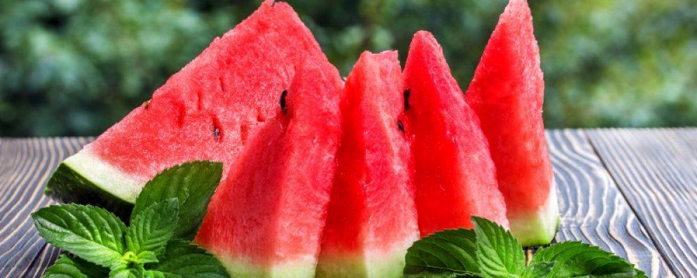 "Juicy Watermelon ""Cake"" from Marcie's Kitchen"