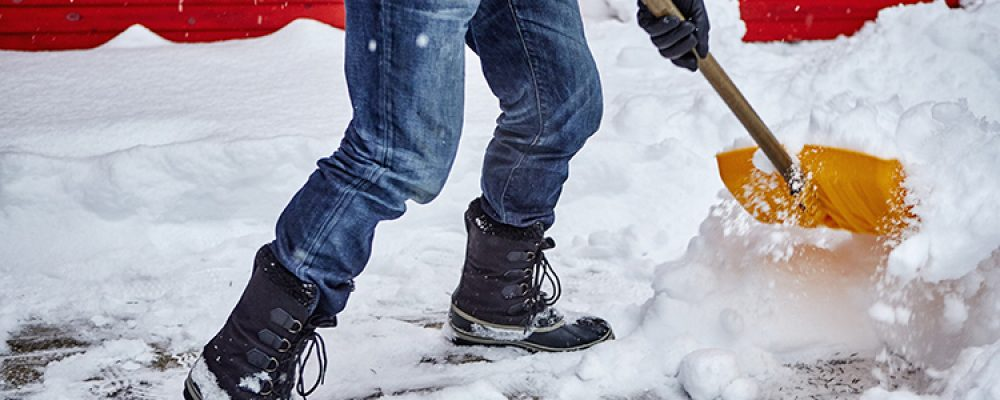 Safe Snow Shoveling to Avoid Injuries by Dr. Marshall P. Allegra
