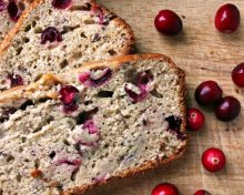 Cranberry Flax Pumpkin Bread