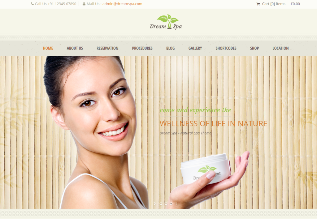 Healthcare And Wellness Web Site Templates Health